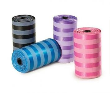 1color printing bags small rolls